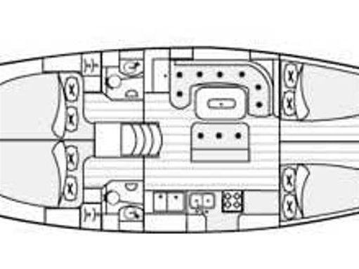 Sailboat Beneteau 50 · 2001 (4)