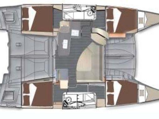Catamaran Fountaine Pajot Lipari 41 · 2011 (4)