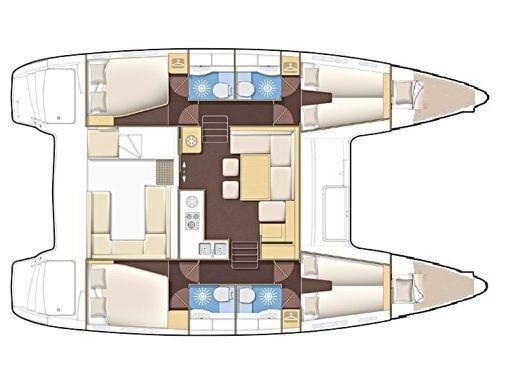 Catamarán Lagoon 400 · 2012 (reacondicionamiento 2019) (4)