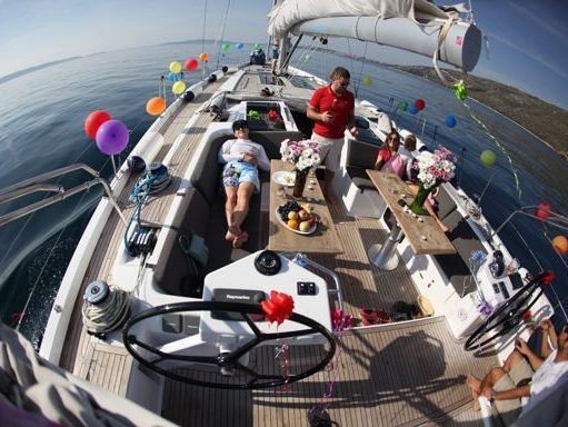 Sailboat Hanse 575 · 2013 (4)