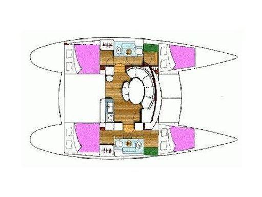 Catamaran Lagoon 380 S2 · 2006 (2)