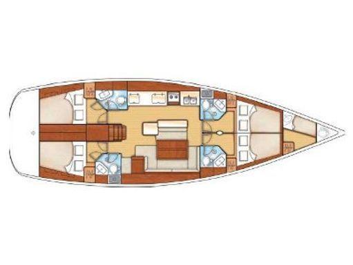 Sailboat Beneteau Oceanis 50 · 2012 (2)