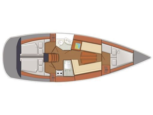 Sailboat Delphia 37 · 2011 (4)