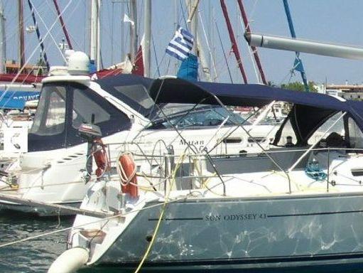 Segelboot Jeanneau Sun Odyssey 43 · 2002 (1)