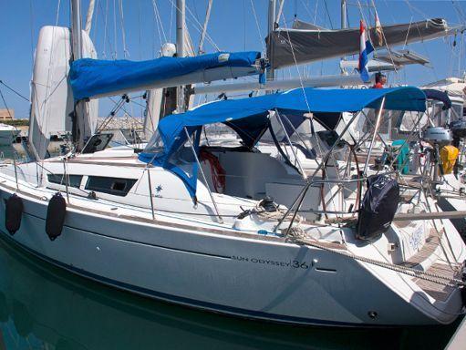 Barca a vela Jeanneau Sun Odyssey 36 i · 2008 (1)