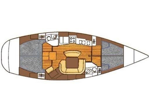 Barca a vela Jeanneau Sun Odyssey 45.2 (2000) (1)