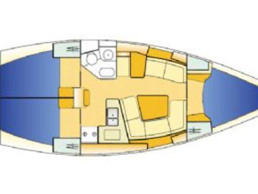 Sailboat Jeanneau Sun Odyssey 37 · 2005 (4)
