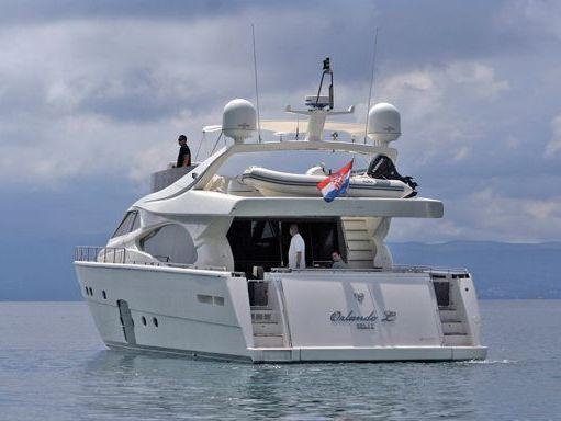 Barco a motor Ferretti 780 · 2007 (2)