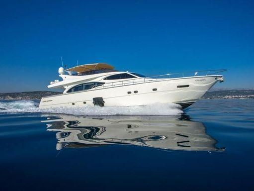 Imbarcazione a motore Ferretti 780 · 2007 (4)