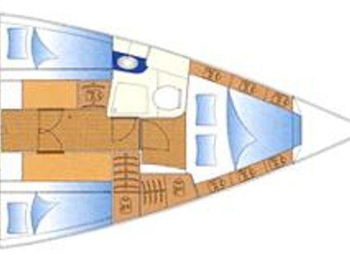 Barca a vela Bavaria 49 (2005) (4)