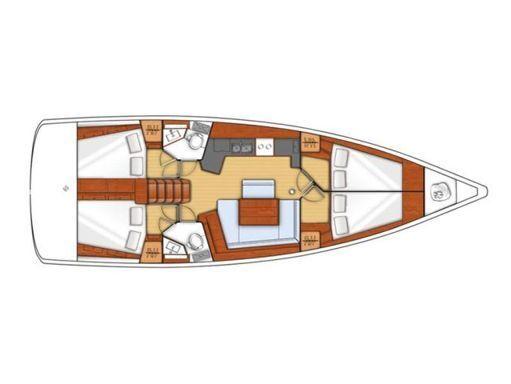 Sailboat Beneteau Oceanis 45 · 2015 (2)