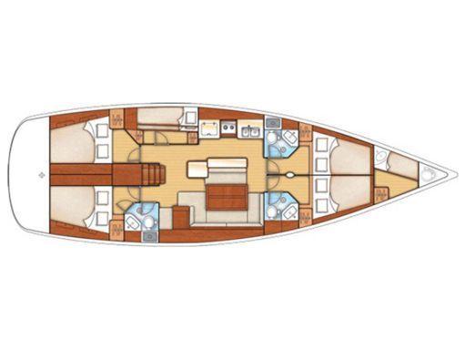 Sailboat Beneteau Oceanis 50 · 2013 (2)