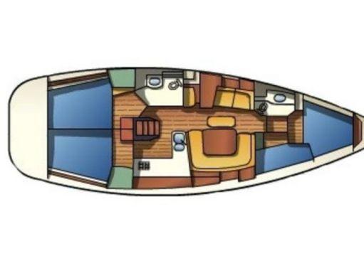 Sailboat Jeanneau Sun Odyssey 43 · 2002 (2)