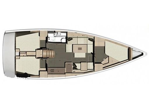 Sailboat Dufour 410 Grand Large · 2014 (4)
