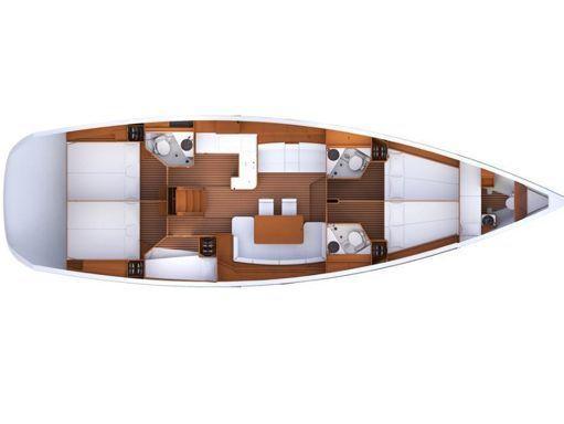 Sailboat Jeanneau 53 · 2014 (2)
