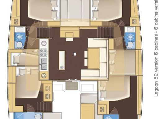 Catamaran Lagoon 52 · 2015 (refit 2020) (1)