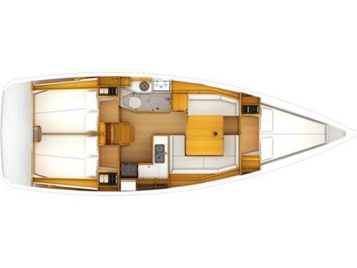 Sailboat Jeanneau Sun Odyssey 389 · 2018 (2)