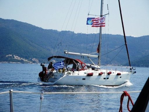 Sailboat Beneteau Oceanis 411 · 2001 (2)