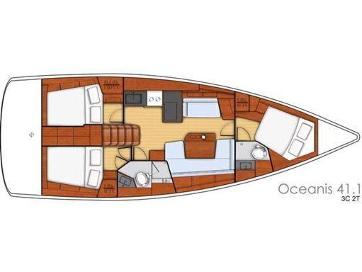Sailboat Beneteau Oceanis 41.1 · 2020 (2)
