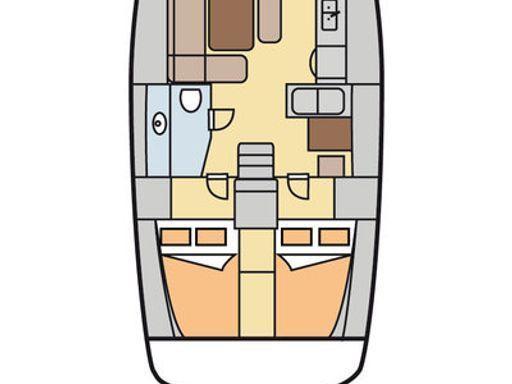 Segelboot Dufour 445 Grand Large · 2012 (1)
