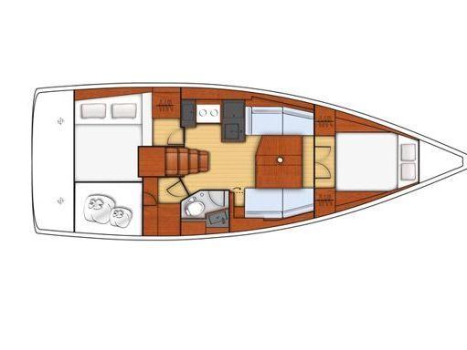 Sailboat Beneteau Oceanis 38.1 · 2019 (1)
