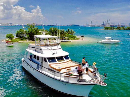 Motorboat Hatteras 75 · 2000 (refit 2020) (1)