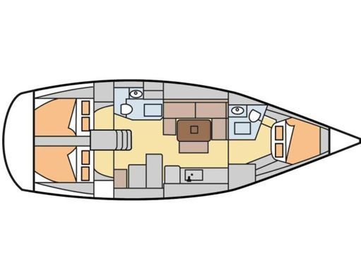 Sailboat Dufour 405 Grand Large · 2011 (refit 2020) (2)