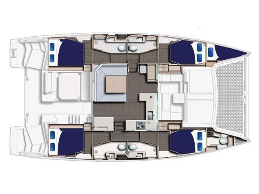 Catamaran Leopard Moorings 4500 · 2018 (2)