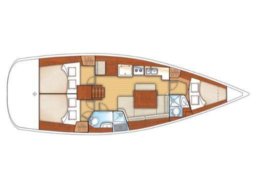 Sailboat Beneteau Oceanis 40 · 2010 (2)