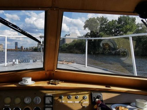 Houseboat VEB Konigstein KB12A · 1980 (4)