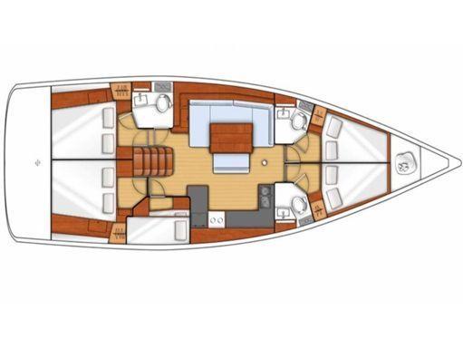 Sailboat Beneteau Oceanis 48 · 2015 (2)