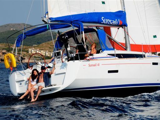 Sailboat Jeanneau Sunsail 41.1 · 2015 (4)
