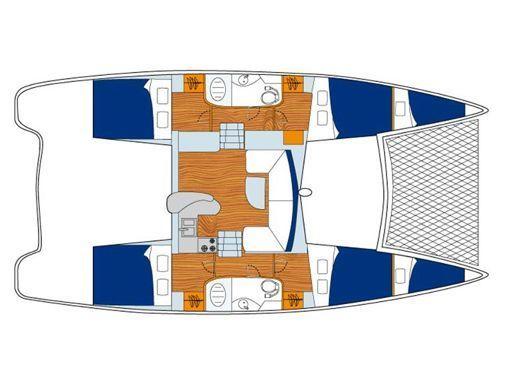 Catamaran Leopard Sunsail 404 · 2019 (2)