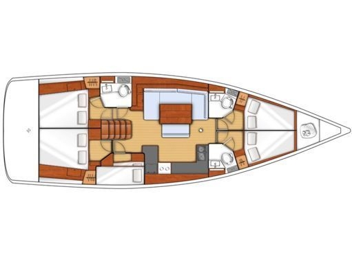 Sailboat Beneteau Oceanis 48 · 2018 (2)