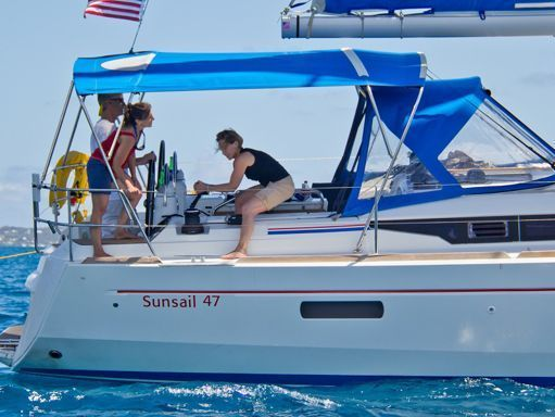 Sailboat Jeanneau Sunsail 47 · 2016 (4)