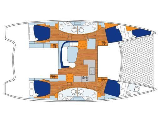 Catamaran Leopard Sunsail 454 · 2019 (2)