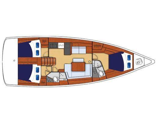 Sailboat Beneteau Moorings 45.3 · 2018 (2)