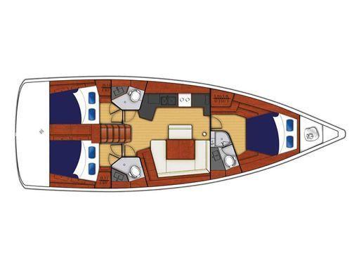 Sailboat Beneteau Moorings 453 · 2017 (2)