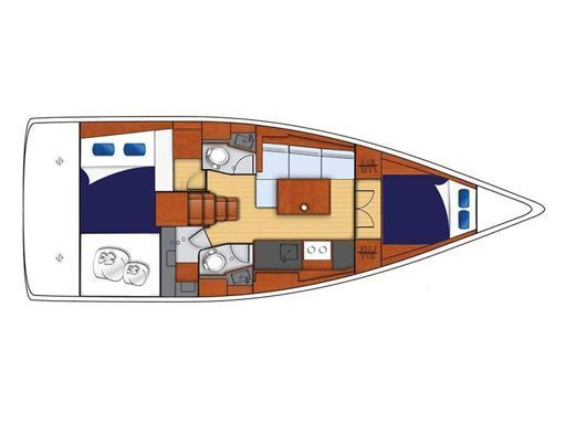 Sailboat Beneteau Moorings 382 · 2017 (2)