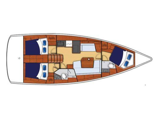 Sailboat Beneteau Moorings 42.1 · 2019 (2)