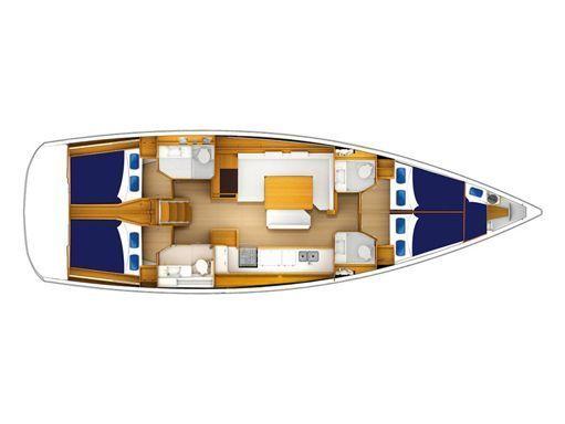 Sailboat Jeanneau Moorings 51.4 · 2018 (2)
