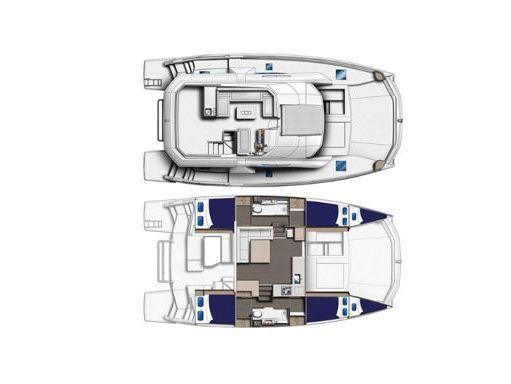 Motor Catamaran Leopard Moorings 433 · 2019 (2)