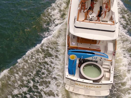 Motorboat Hatteras 75 · 2000 (refit 2020) (4)