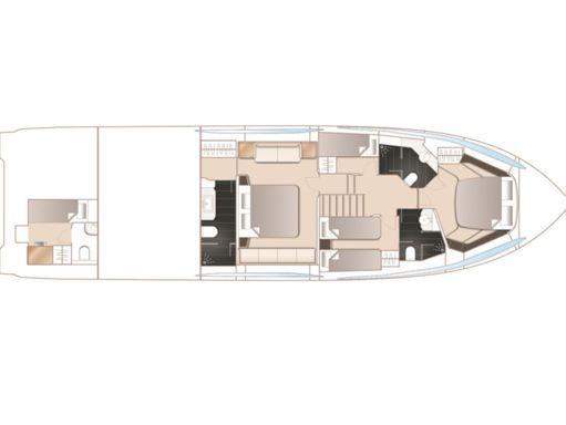 Imbarcazione a motore Princess S65 · 2018 (4)