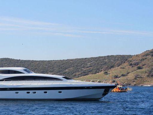 Motorboat Mangusta 107 · 1999 (refit 2018) (0)