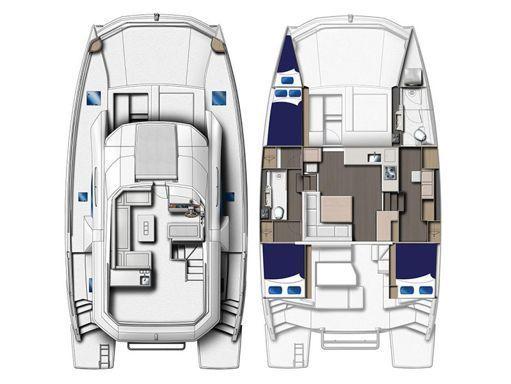 Motor Catamaran Leopard Moorings 433 · 2018 (2)