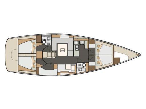 Sailboat Elan Impression 50 · 2018 (2)