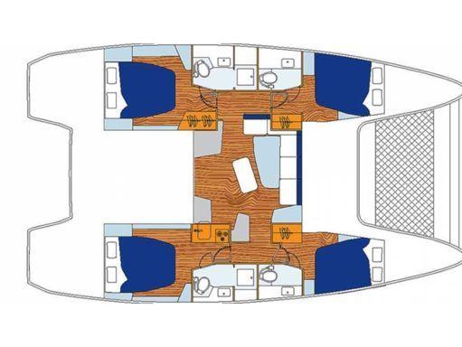 Catamaran Lagoon Sunsail 424 (2019) (2)