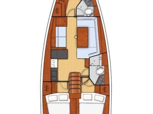 Sailboat Beneteau Oceanis 41.1 · 2018 (1)